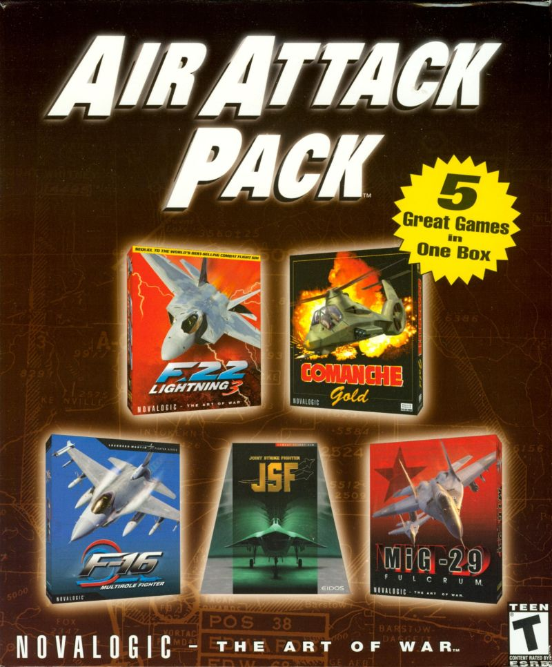 Air Attack Pack Windows Front Cover
