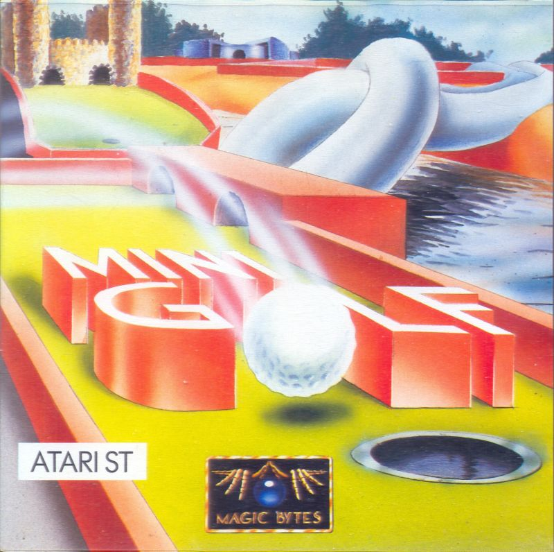 Hole-In-One Miniature Golf Atari ST Front Cover