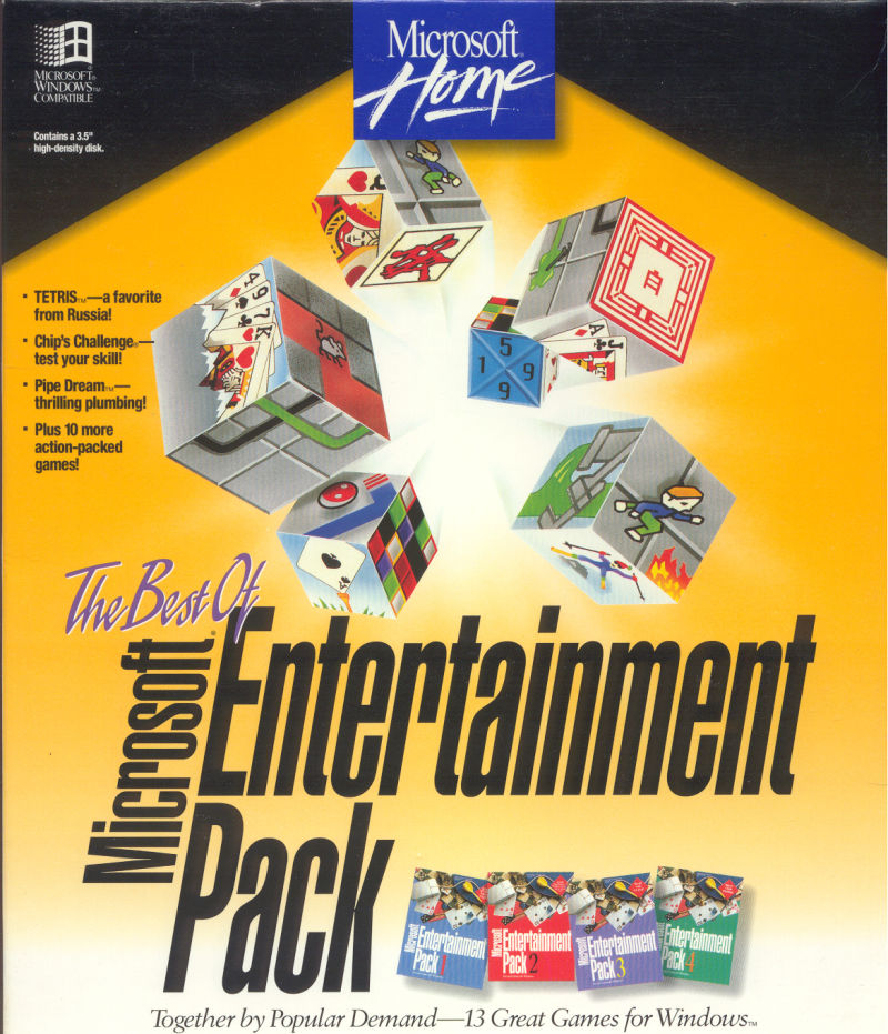 The Best of Microsoft Entertainment Pack for Windows 3 x