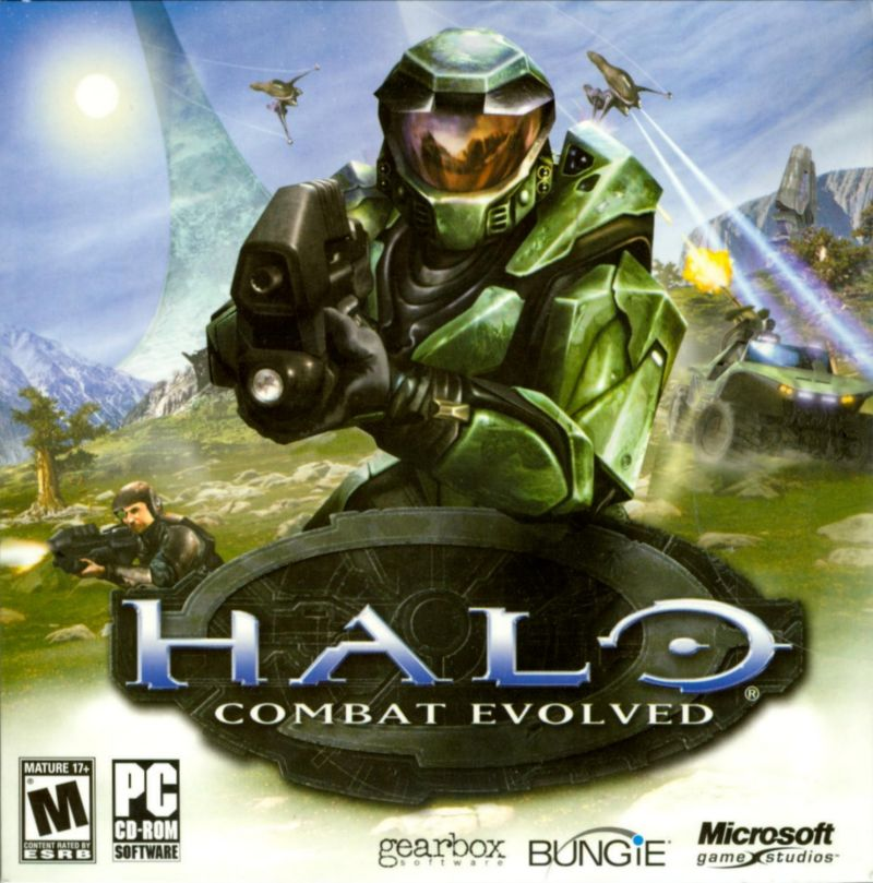 Halo: Combat Evolved Windows Other Jewel Case - Front