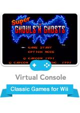 Super Ghouls 'N Ghosts Wii Front Cover