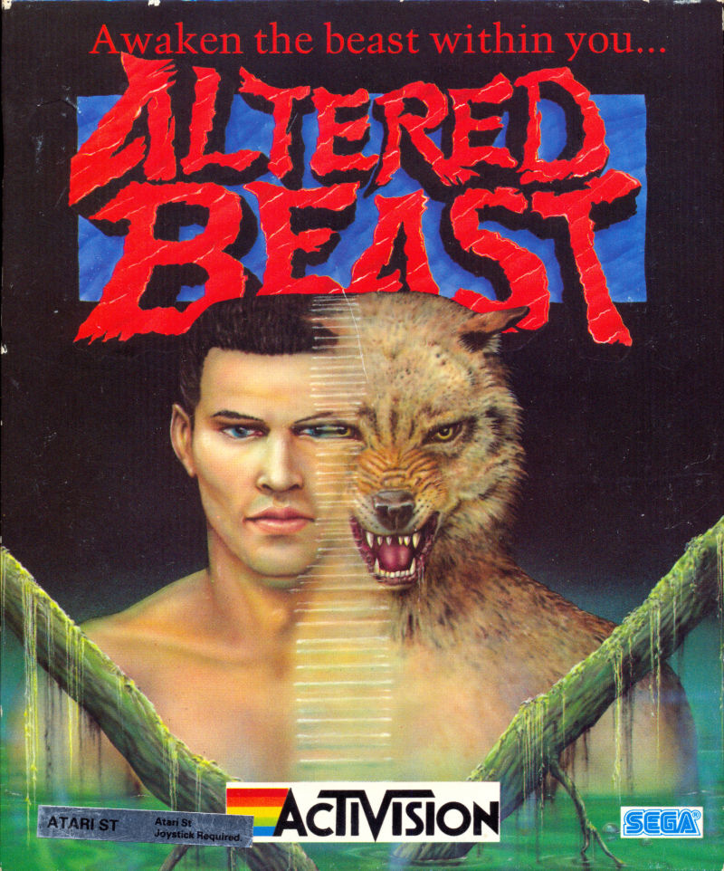 Altered Beast For Atari ST (1989)