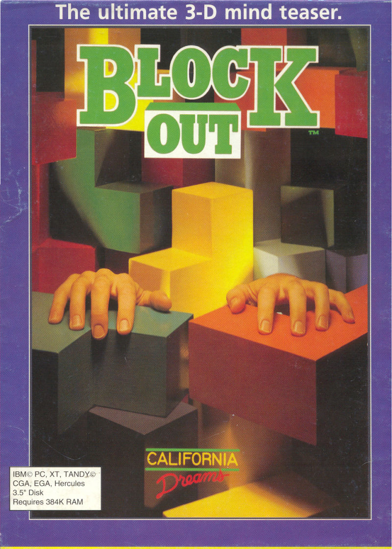 Blockout DOS Front Cover