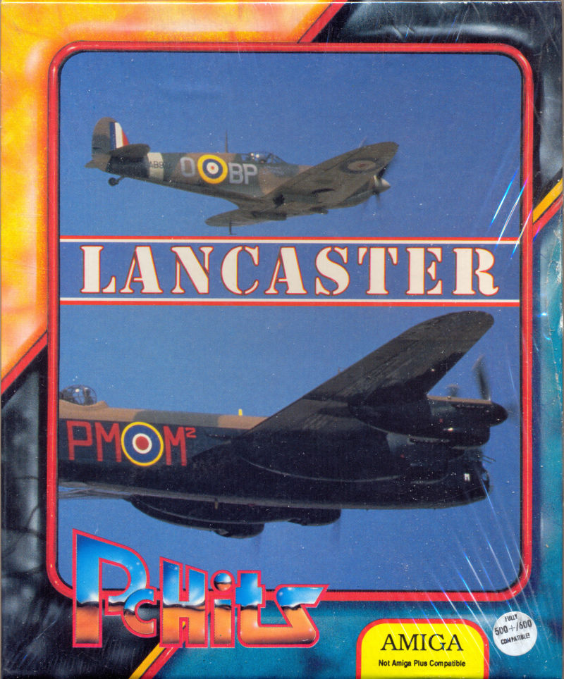 Lancaster Amiga Front Cover