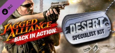 Jagged Alliance: Back in Action - Desert Specialist Kit
