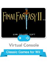 Final Fantasy II Wii Front Cover