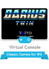 Darius Twin Wii Front Cover