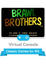 Brawl Brothers Wii Front Cover