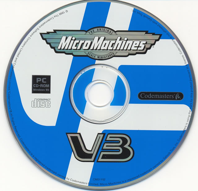 Micro Machines V3 Windows Media