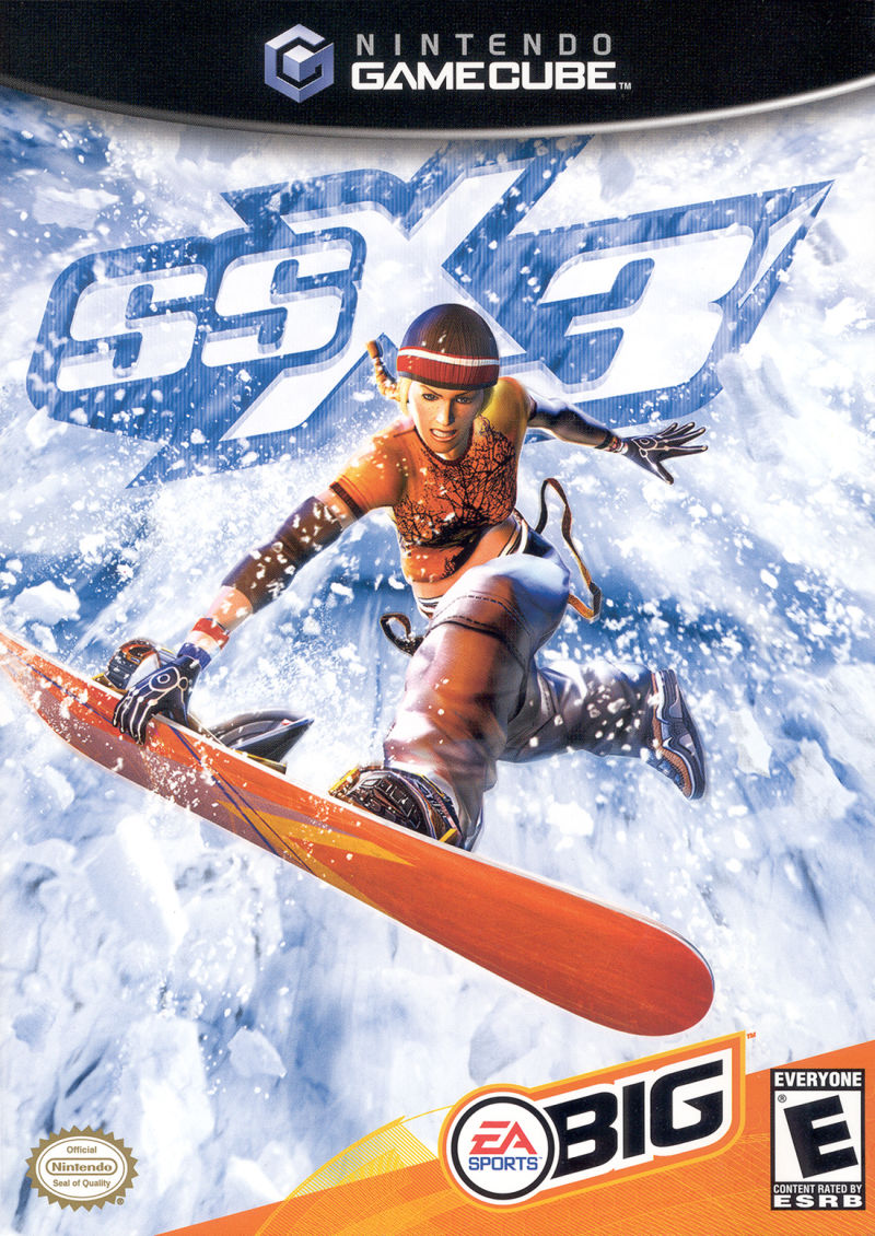 SSX 3 GameCube Front Cover