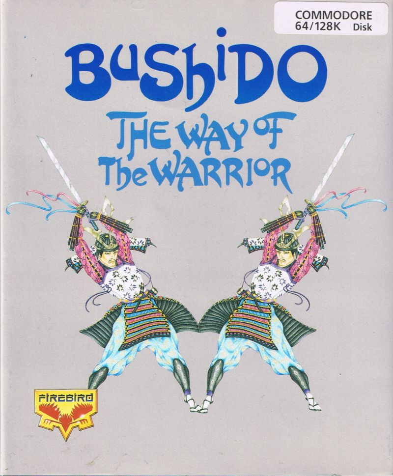 Bushido: The Way of the Warrior Commodore 64 Front Cover