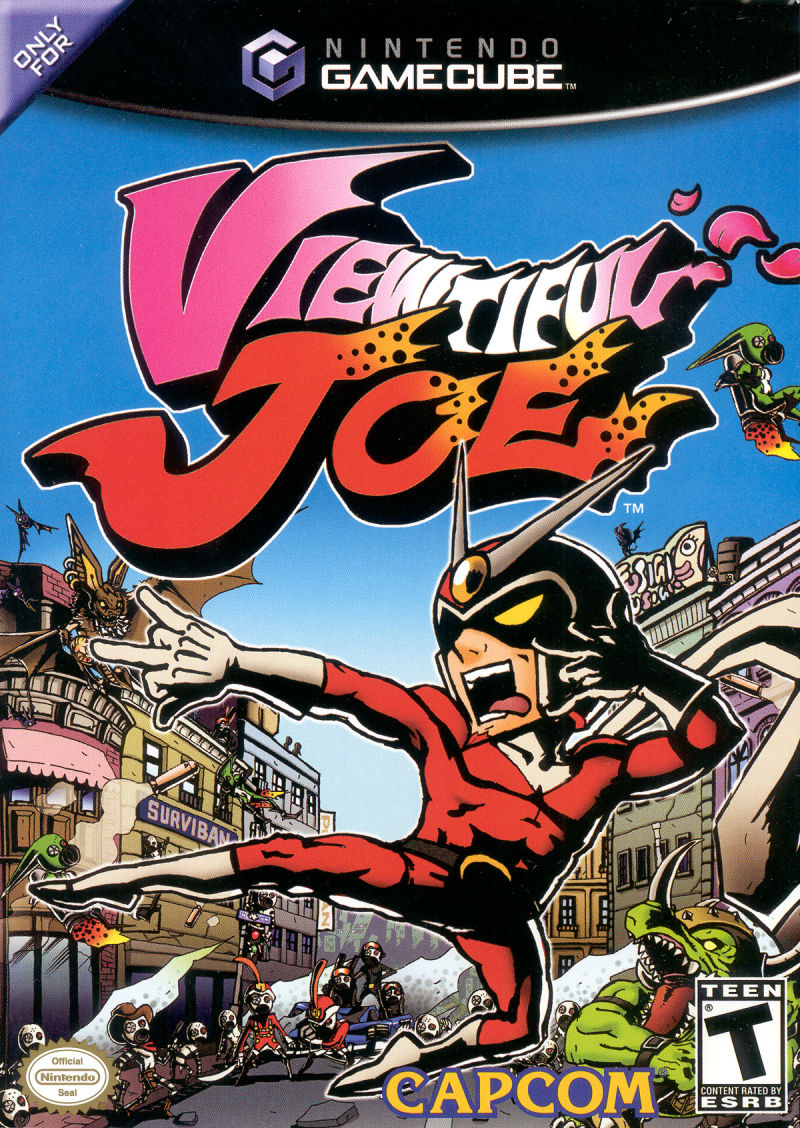 viewtiful joe gamecube cover - best gamecube games