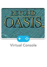 Beyond Oasis Wii Front Cover