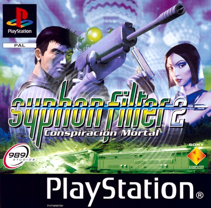 Syphon Filter 2 PlayStation Front Cover