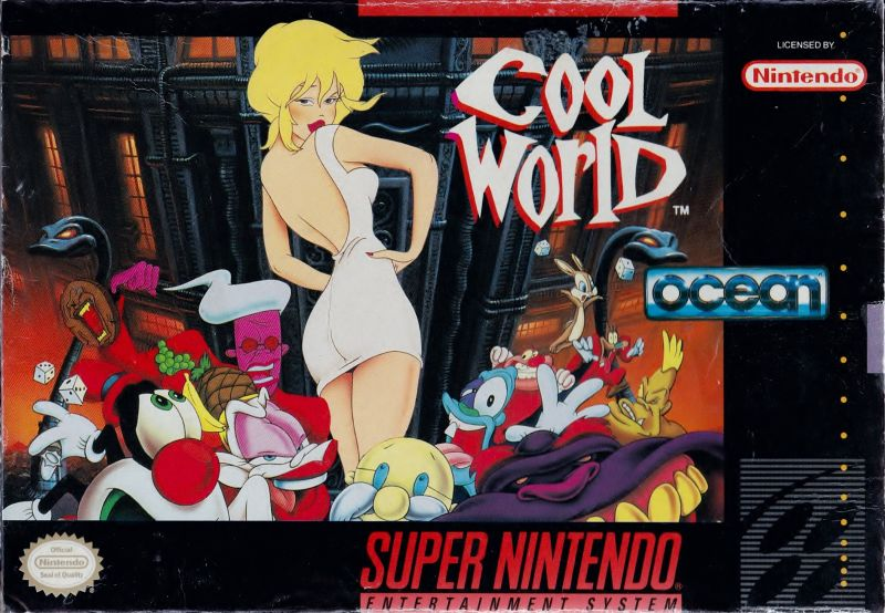 Cool World SNES Front Cover