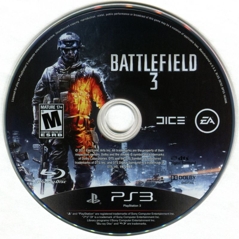 Battlefield 3 PlayStation 3 Media