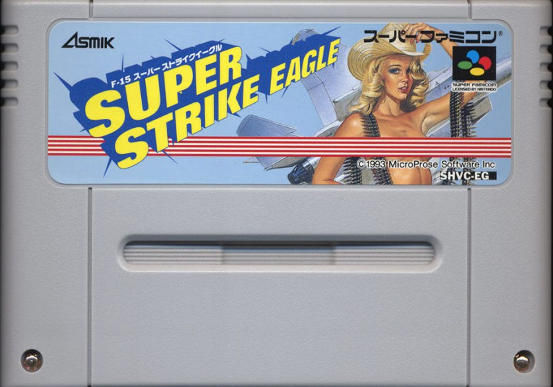 Super Strike Eagle SNES Media