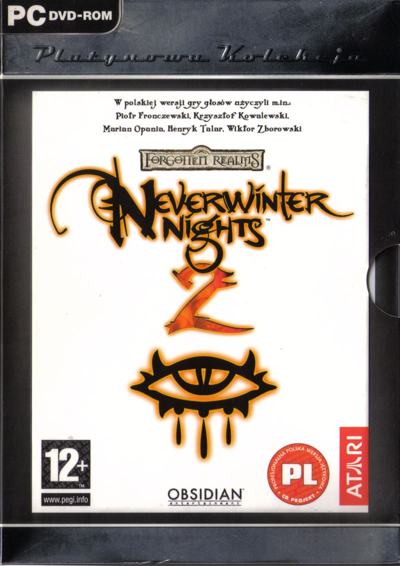 Neverwinter Nights 2 Windows Front Cover