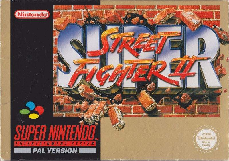 Super Street Fighter Ii 1994 Snes Box Cover Art Mobygames