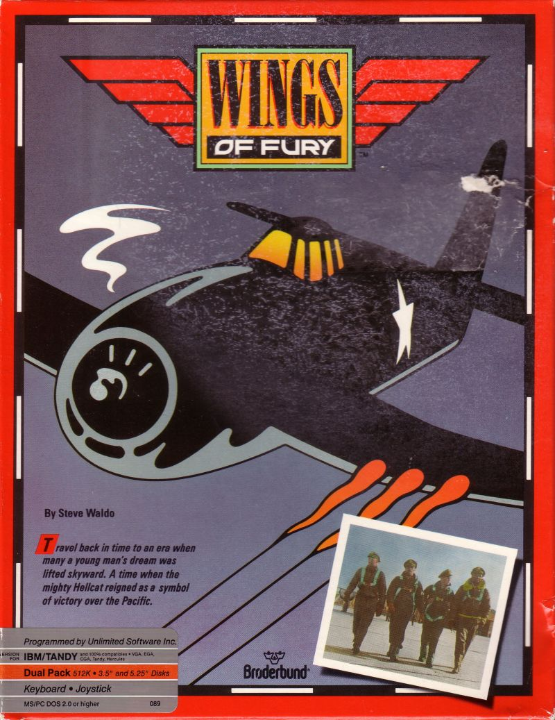 Wings of fury for amiga 1990 mobygames for Wings of fury