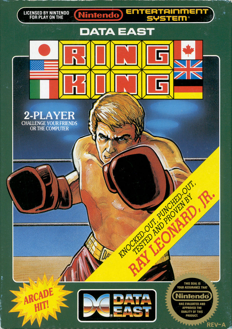 Ring King NES Front Cover