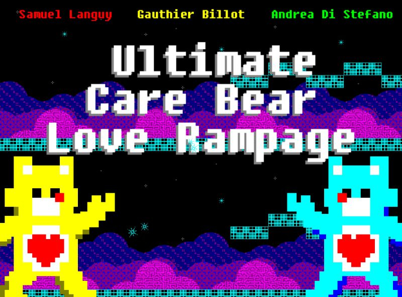 Ultimate Care Bear Love Rampage