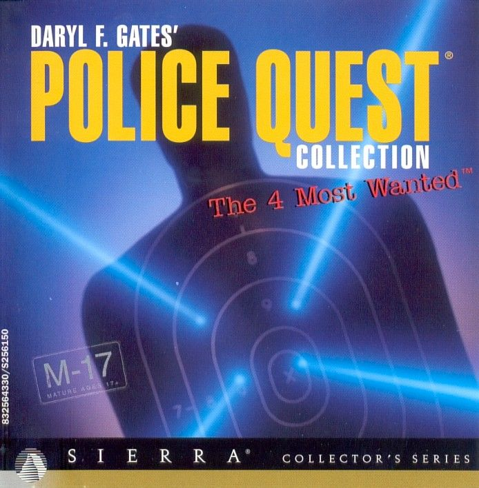 Daryl F. Gates' Police Quest Collection: The 4 Most Wanted DOS Other CD Insert