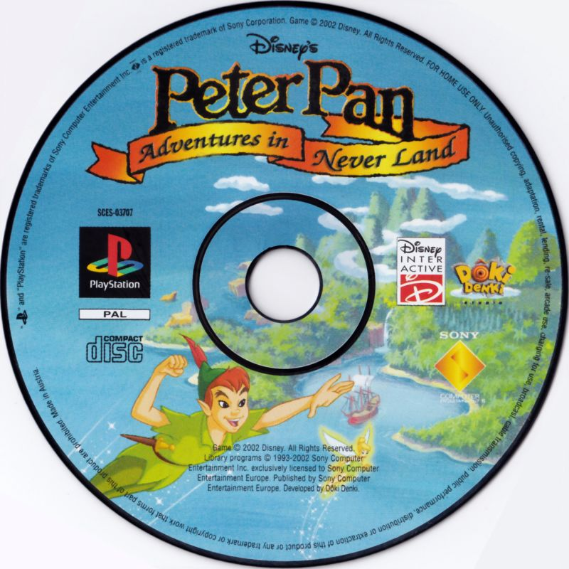 Peter Pan in Disney's Return to Never Land PlayStation Media