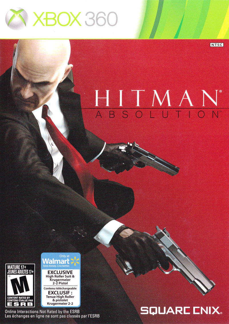 Hitman Absolution Exclusive High Roller Suit Krugermeier 2 2 Pistol 2012 Box Cover Art Mobygames
