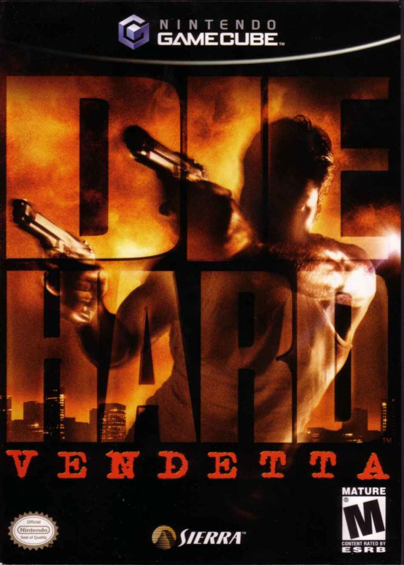 Die Hard: Vendetta GameCube Front Cover