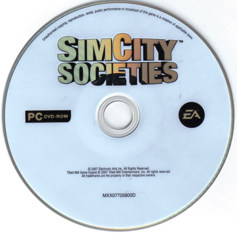 SimCity Societies Windows Media