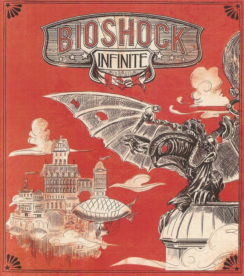 BioShock Infinite PlayStation 3 Inside Cover Right