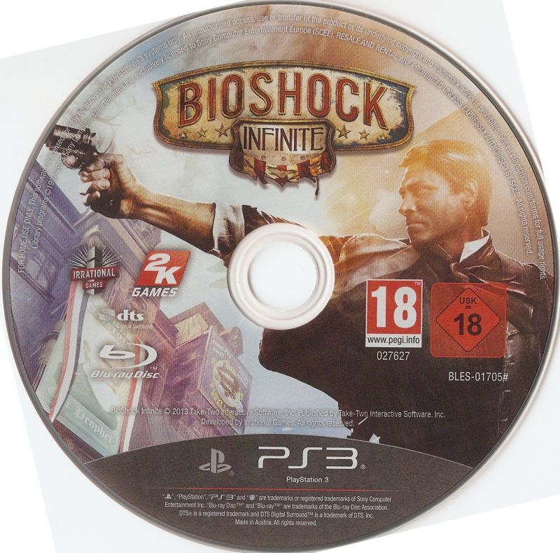 BioShock Infinite PlayStation 3 Media