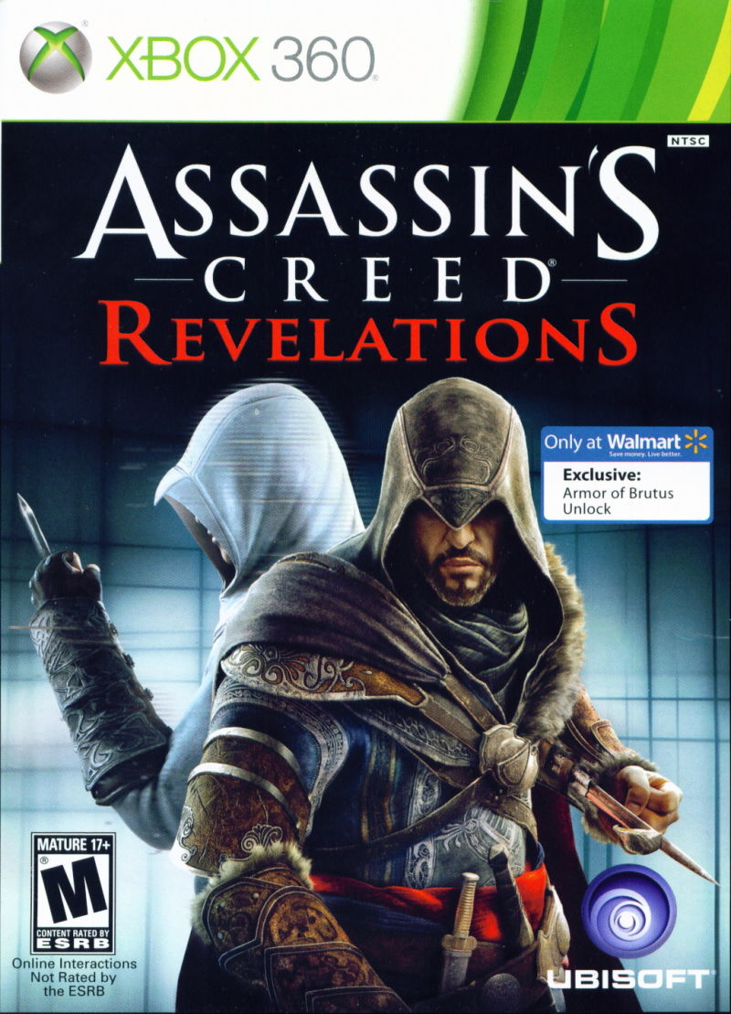 assassins creed revelations 2011 playstation 3 box