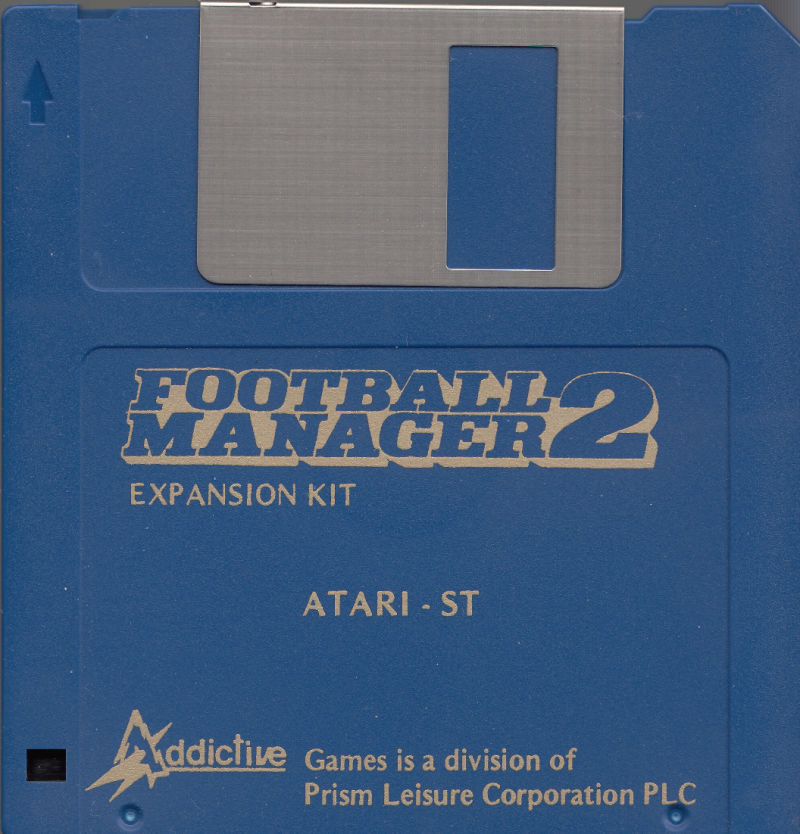 Football Manager II: Expansion Kit Atari ST Media