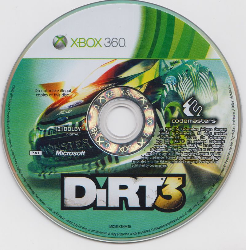 Dirt 3: complete edition release date (xbox 360, ps3).