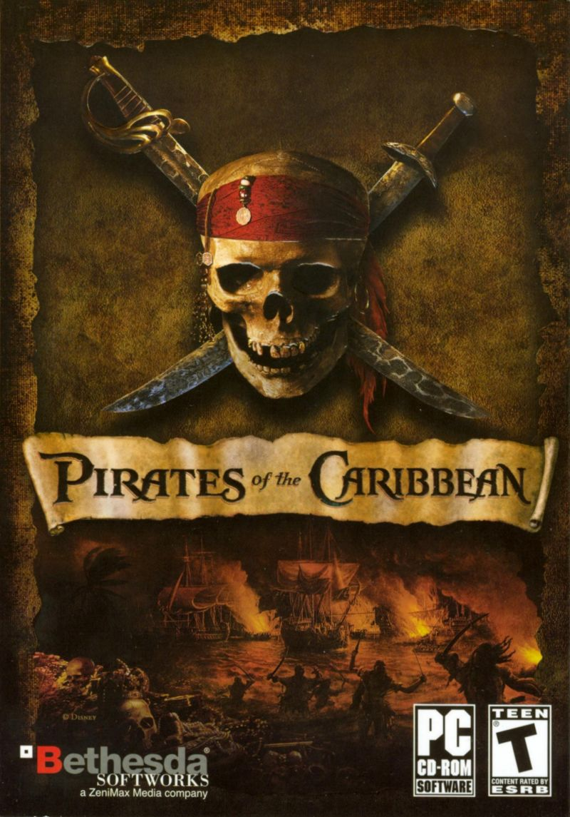 Pirates of the Caribbean Windows Front Cover