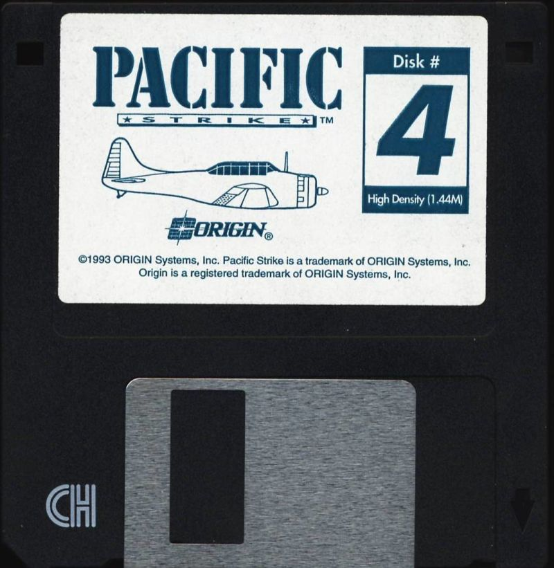 Pacific Strike DOS Media Disk 4