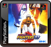 The King of Fighters '97 PlayStation 3 Front Cover