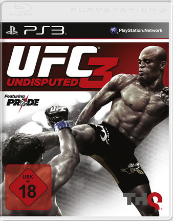 UFC Undisputed 3 PlayStation 3 Front Cover