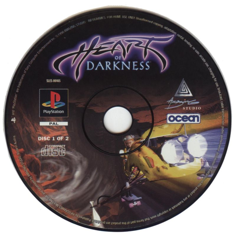 Heart of Darkness PlayStation Media