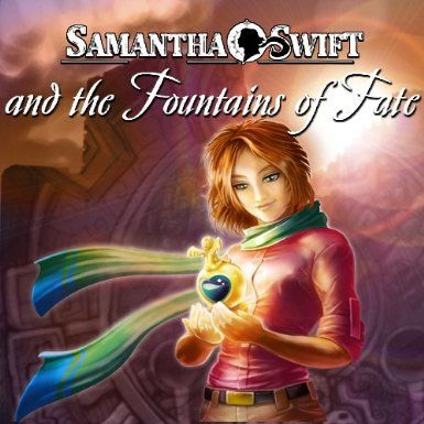 Samantha Swift and the Fountains of Fate Windows Front Cover