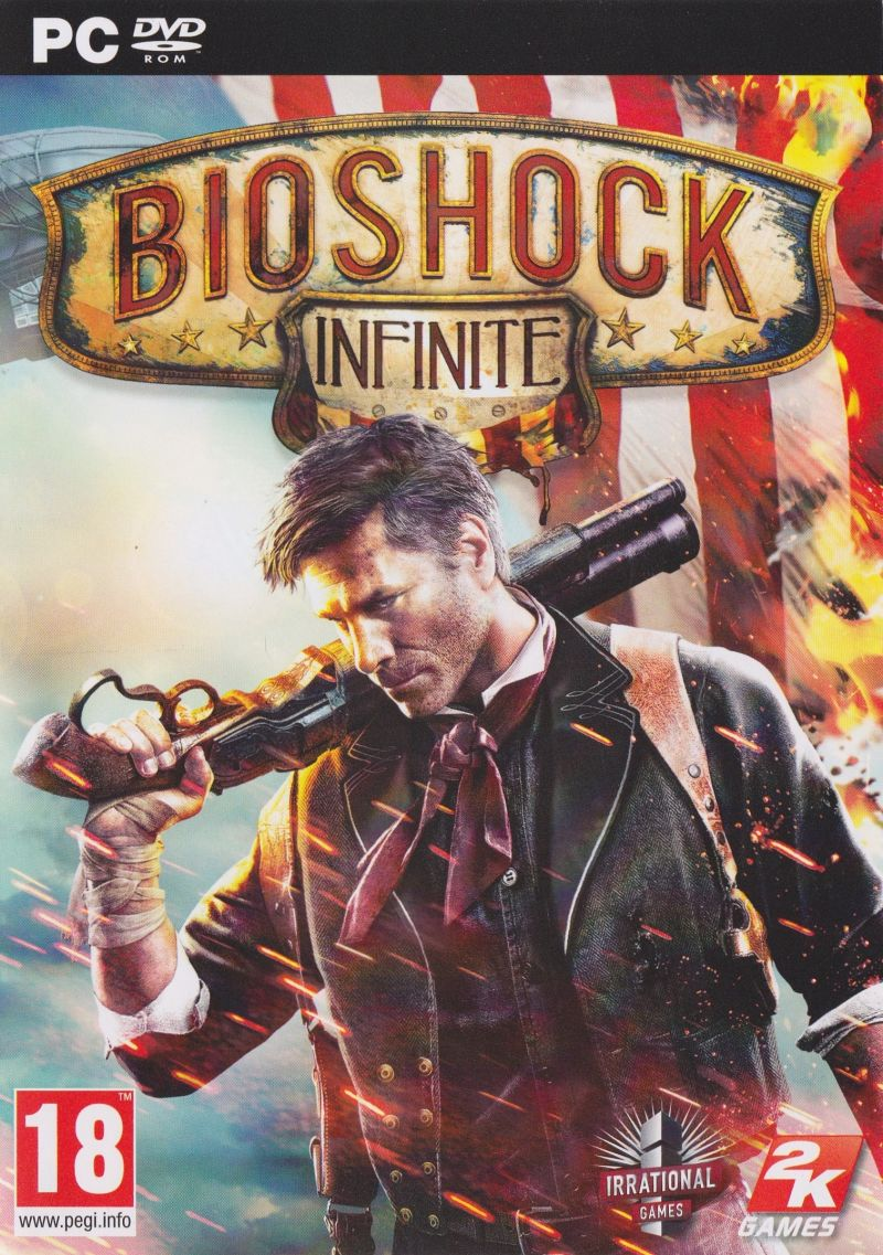 BioShock Infinite Windows Front Cover