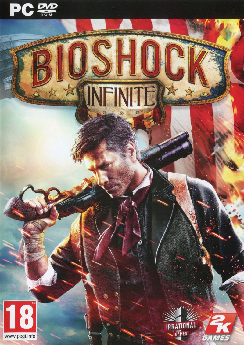 BioShock Infinite Windows Front Cover Keep Case