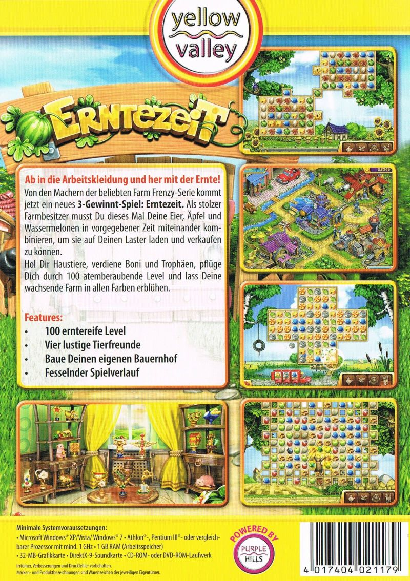 Crop Busters (2011) Windows box cover art - MobyGames