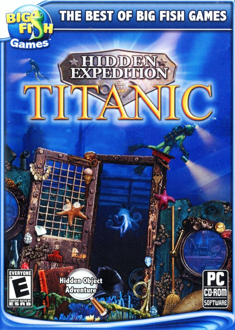 Hidden Expedition Titanic 2006 Windows Box Cover Art Mobygames