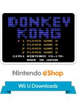 Donkey Kong Wii U Front Cover