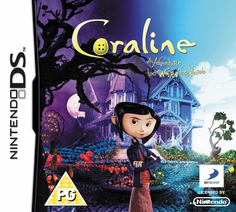 Coraline 2009 Nintendo Ds Box Cover Art Mobygames