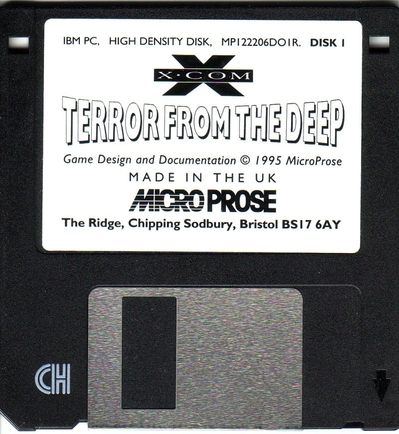 X-COM: Terror from the Deep DOS Media Disk 1/4