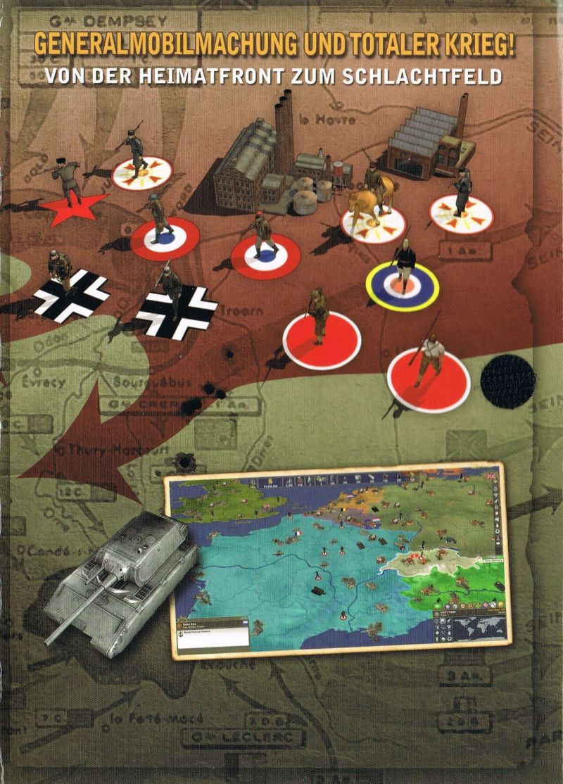 Making History II: The War of the World  Windows Inside Cover Inside right